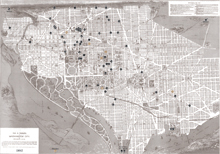 Interactive Washington D.C. City Map, 1892